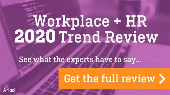 Get the Ariad HR trends 2020 Review