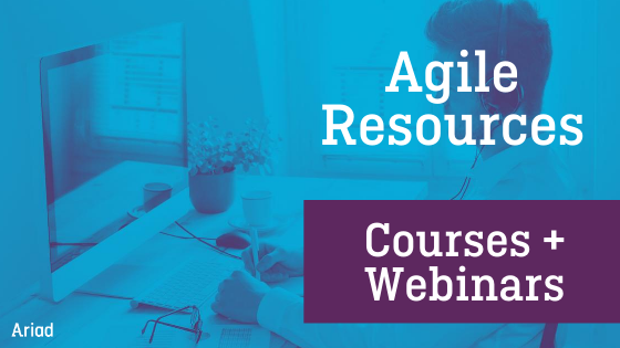 Ariad agile resources 2020 courses