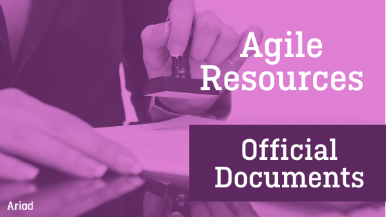 Ariad agile resources 2020 documents
