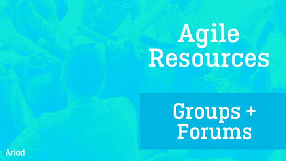 Ariad agile resources 2020 groups