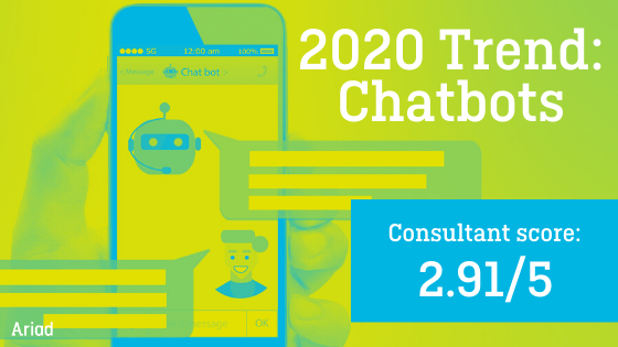 Ariad Trend Review Chatbots 2020