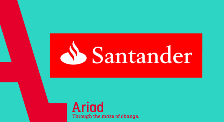 Ariad case study santander how we worked together