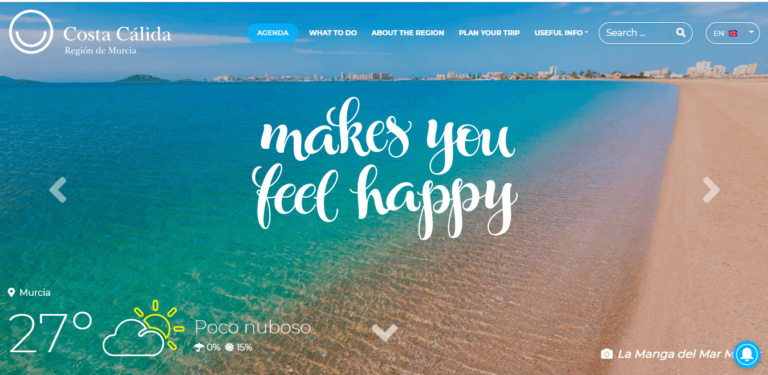 Ariad study case tourism murcia An excellent customer experience through UX