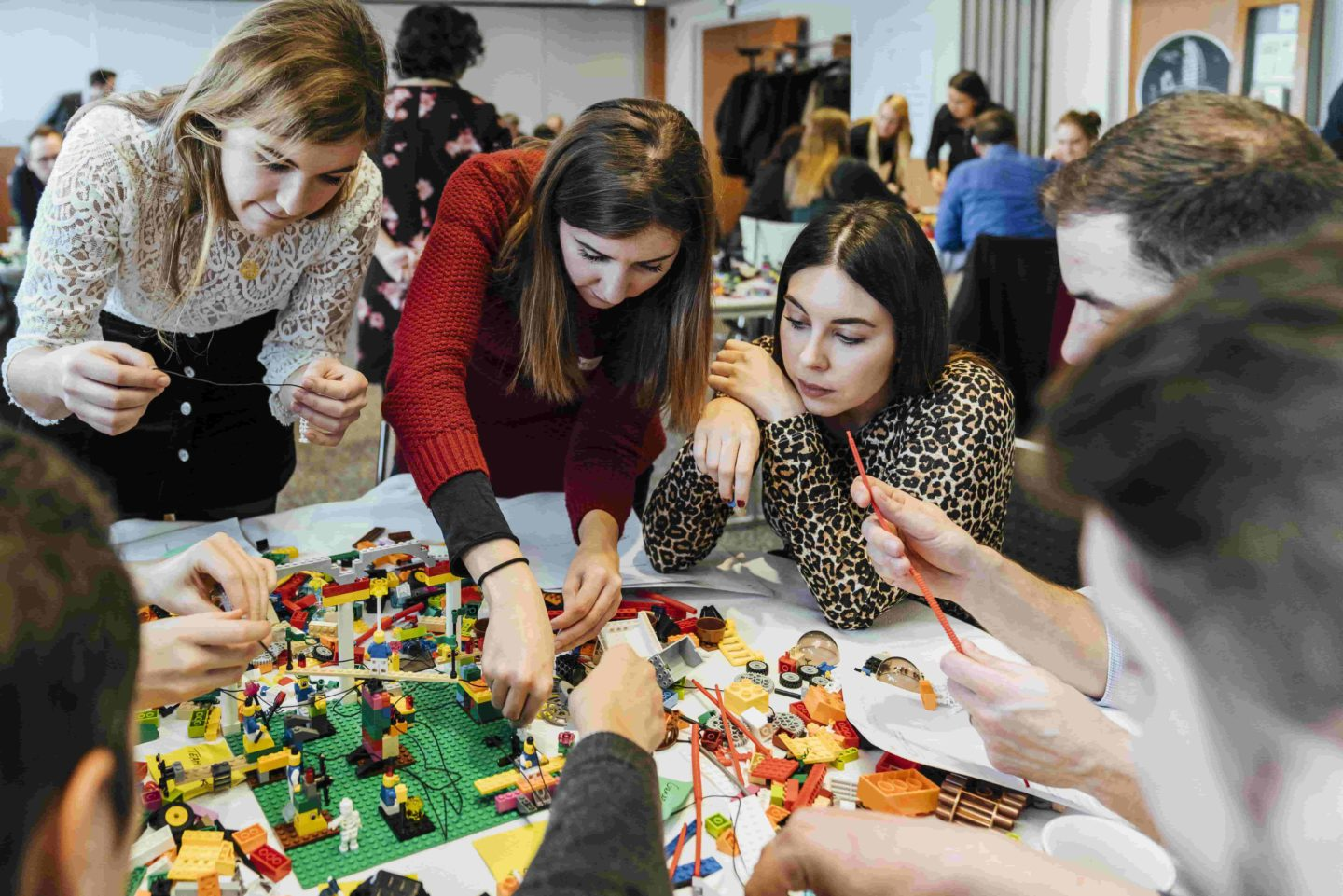 Ariad fun teambuilding culture with lego